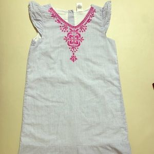 Gymboree girl dress 8